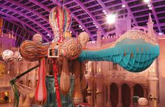 Valkyrie Octopus by Joana Vasconcelos will be on display at MGM MACAU 15 March – 31 October 2015