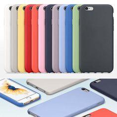 RHOADA Original 1:1 Copy Office Silicone Coque Case For iPhone 6s 7 Plus Phone Bags Cases Cover No Logo Fundas Case for iPhone 6 #Affiliate