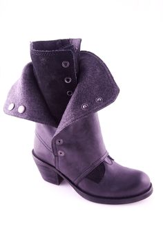 Luxury Rebel Brady boots in Black, silver, brown and lavender | Via Rossi