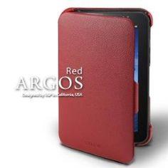 SGP Samsung Galaxy Tab Leather Case Argos Series [Red]=  Click here to Order => www.amazon.com/dp/B004EG484A/?tag=nanza-20
