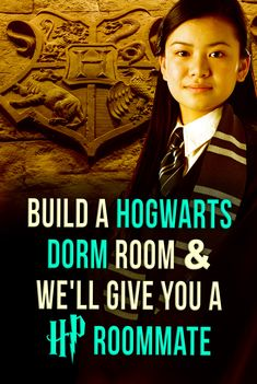 Harry Potter Quiz: Who's your Hogwarts Roomie? Build a Hogwarts dorm and we'll reveal who your Hogwarts roommate is! Harry Potter Roommate, Harry Potter Personality quiz. Who would you go through Hogwarts with?