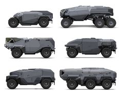 ArtStation - vehicle sketches, Sam Brown