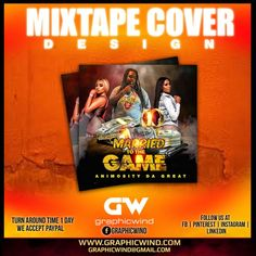Top Mixtape Cover of the day! Married To The Game Mixtape Cover Artwork Designed by graphicwind For high-quality Cd Cover designs Contact us at web: www.graphicwind.com or please email us to graphicwind@gmail.com Married To The Game, Flyer Design, Logo Design, Cd Cover Design, Web Technology, Artwork Design, Mixtape, Creative Design, Instagram