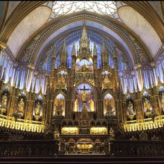 Notre Dame. Montreal.