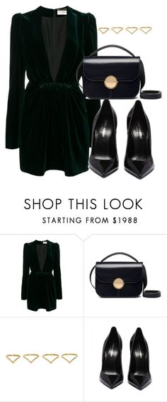 """Untitled #5093"" by beatrizvilar on Polyvore featuring Yves Saint Laurent, Marni and Ana Khouri"