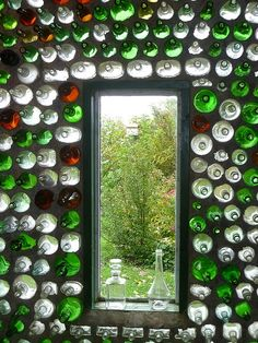 bottle house... build with cob and bottles for sensitive tropicals?