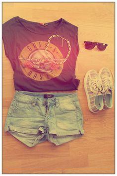 love the Guns n Roses shirt!