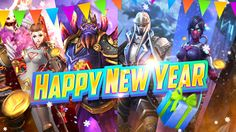 Happy New Year from the MOBA Legend Team! Moba Legends, Mobile Game, Happy New Year, Games, Plays, Happy New Years Eve, Gaming, Game, Toys