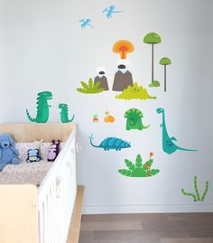 Blik dinosaur wall decals!