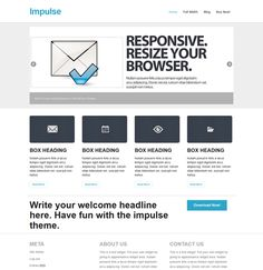 This free responsive business WordPress theme includes a clean design, a multi-level dropdown menu, support for threaded comments, a featured content slider, and more.