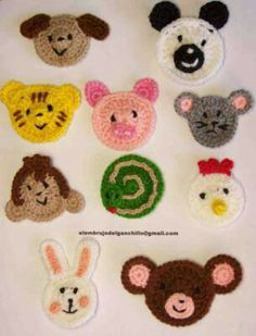 Caritas Crochet Elephant, Crochet Baby, Manta Animal, Hand Stiching, Crochet Accessories, Baby Quilts, Quilling, Rakhi, Applique