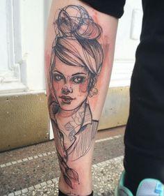 Wanna Do Big thanks to Olga :) Pin Up Tattoos, Tattos, Tattoo Inspiration, Tattoo Artists, Tattoo Ideas, Mirror, Portrait, Big, Instagram Posts