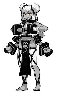 Black Anime Characters, Superhero Characters, Girls Characters, Manga Characters, Female Character Design, Character Design Inspiration, Character Concept, Character Art, Alita Battle Angel Manga