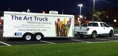 The Art Truck, Mobilizing Creativity!  Learn more at www.thearttruck.com