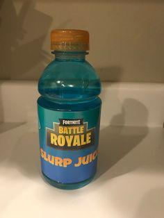 Fortnite Printable Slurp Juice Labels for 12 oz Gatorade ...