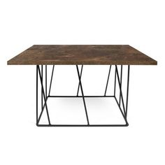 Add unique dimension to your living room with the Tema Home Helix Square Coffee Table . Strong steel rods crossing on two different planes form the base. Extendable Coffee Table, Lift Top Coffee Table, Coffee Table With Storage, Coffee Table Wayfair, Green Marble, A Table, Modern Furniture, Modern Design, Planes