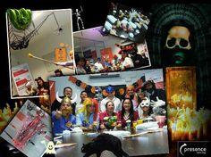 Halloween en Presence Technology Bogotá