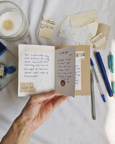 Jotting down a few thoughts of the day in my Journal Pages, Junk Journal, Thought Of The Day, Hobonichi, Travelers Notebook, Moleskine, Ephemera, Thoughts, Handmade