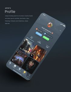 iPhone X Figma compatible UI pack for creative & talented community app. Android App Design, Ios App Design, User Interface Design, Android Ui, Web Mobile, Mobile Web Design, Ui Kit, App Design Inspiration, Affinity Designer