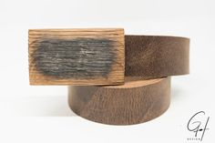 Ledergürtel mit Holzschnalle vom Mostfass Unisex, Elegant, Belt Buckles, Barrel, Pure Products, Design, Leather, Accessories, Style