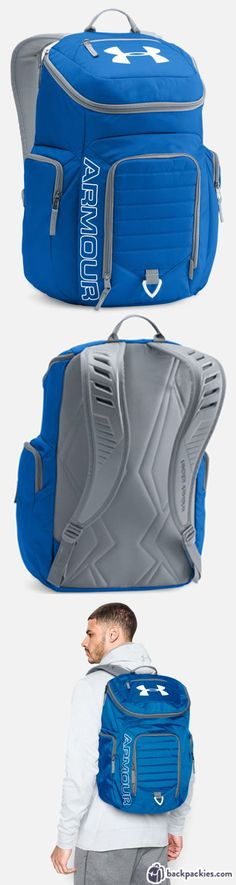 Under Armour gym backpack - Backpack for Crossfit - Learn more: https://backpackies.com/blog/best-crossfit-backpack