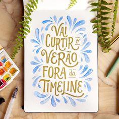 10 perfis do Instagram pra quem ama Lettering