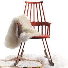 Un rocking chair design, Kartell