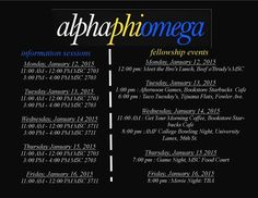 """Soar into service with Alpha Phi Omega!"" Tau Mu Chapter - University of South Florida"