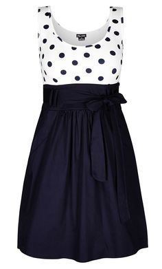 Plus Size Cute Sailor Dress