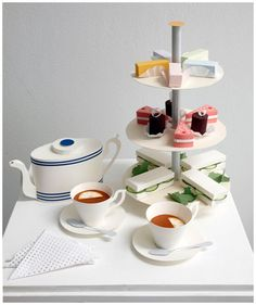DESIGN: Paper high tea | The Graphic Foodie - Brighton food blog and reviews