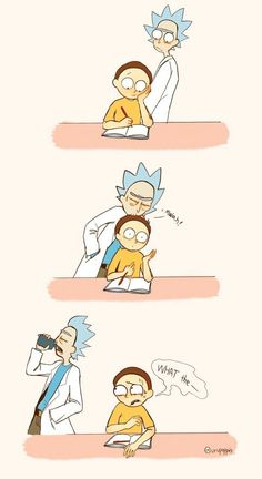 Rick and Morty Rick And Morty Comic, Rick Und Morty, Ricky Y Morty, Bojack Horseman, Adult Cartoons, Fan Art, Cute Art, Nerdy, Wattpad