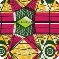 Tissu wax Conacry