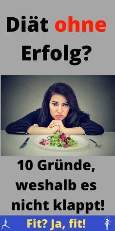 10 Gründe, warum du nichts abnimmst!