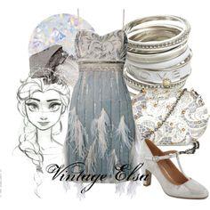 Vintage Elsa, created by amarie104 on Polyvore
