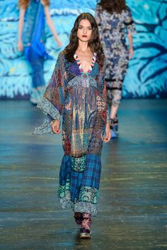 Anna Sui - New York Fashion Week | Spring Summer... - welcome in the world of fashion