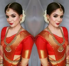 For everyone who needs a bridal inspo - let& go! - For everyone who needs a bridal inspo – let& go! Indian Bridal Sarees, Indian Bridal Makeup, Indian Bridal Outfits, Indian Bridal Fashion, Bridal Lehenga, Bridal Dresses, Wedding Sarees, Indian Dresses, Indian Skirt