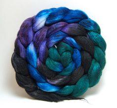 Nebula Merino Silk Wool Roving