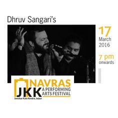 Trained in Hindustani classical music, Dhruv Sangari (also known as Bilal Chishty) is the lead vocalist of the electro-accoustic ensemble 'Humble Mystic' and also directs the Sufi music troupe 'Rooh.'  Watch him perform live on 17th March @ Navras from 7pm onward.