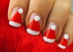 Christmas DIY Nail Art Designs | NAIL PIXIIE