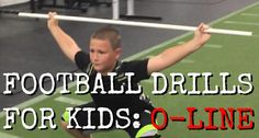 Football Drills for Kids who are Offensive Linemen