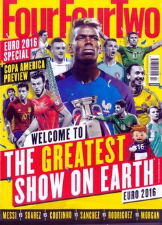Euro 2016's headline makers! Copa America preview! Carlo Ancelotti One-on-One! First Michel Platini, then Zinedine Zidane - now it's over to you, Paul Pogba. France have tasted victory in their last two tournaments on home soil thanks to the performances of an attacking midfielder who plays for Juventus, and Pogba could continue that trend at Euro 2016. FFT tells the story of this summer's poster boy as part of our cover feature on the stars of Euro 2016 - the tournament that will be the…