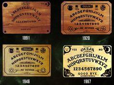pamelalovenyc: vintage Ouija boards