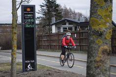 Link til diverse sykkeltellinger i Oslo