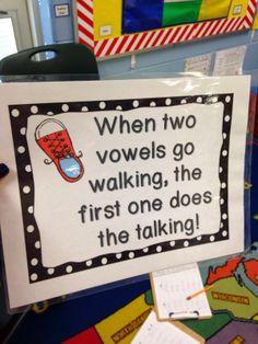 Mrs. Wheeler's First Grade Tidbits: Vowel Teams