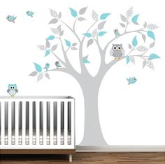 Children Vinyl Wall Decals tree decal with by Modernwalls on Etsy, $99.00 ***add yellow