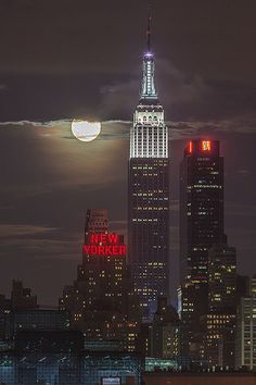 2013 Supermoon Eclipse from NYC [Explored] New York City