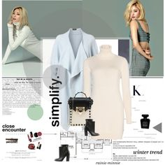 Excellence is simplicity. by rainie-minnie on Polyvore featuring moda, Loro Piana, Phase Eight, Maison Margiela, Valentino, Bobbi Brown Cosmetics, Chanel and Nana'