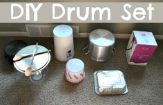 The Iowa Farmer's Wife: Musical Play: DIY Drums