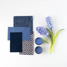 We love blue hues! We put together this bedroom inspiration moodboard using Resene Takaka and Resene Astronaut as a starting point. Fabrics by @warwickfabric. #Resene #Reseneblue #Resenelovescolour #moodboard #flatlay