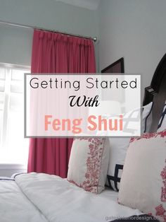 getting started with feng shui